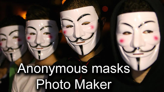 Download Anonymous Mask Photo Editor Free 9.4 Apk for android