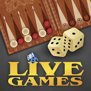 Download Backgammon LiveGames - live free online game 4.01 Apk for android