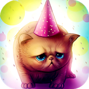 Download Birthday Cat : Cute Live wallpaper for Kids play 1.4.2 Apk for android