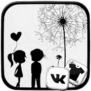 Download Black And White Launcher Theme 4.1 Apk for android