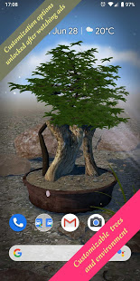 Download Bonsai 3D Live Wallpaper 4.4 and up Apk for android
