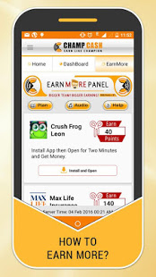 Download Champcash -Digital India App to Earn,Learn and Fun 3.59 Apk for android