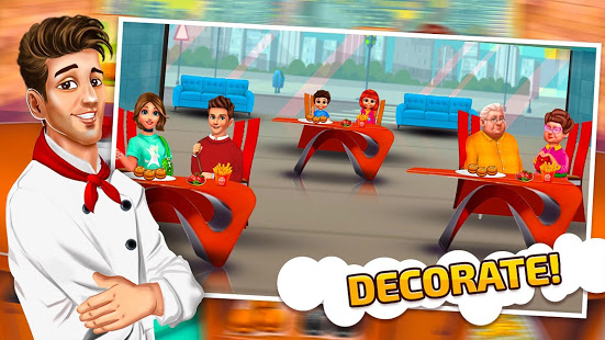 Download Cooking Burger Maker Restaurant - Kitchen Cooking 1.5 Apk for android
