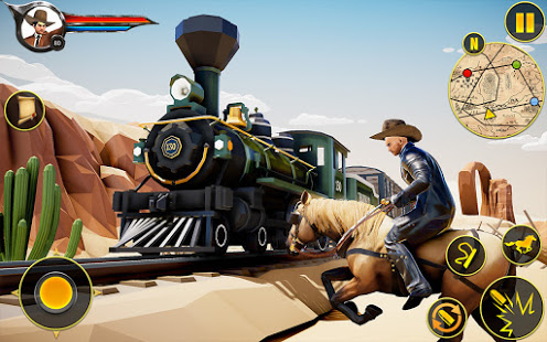 Download Cowboy Horse Riding Simulation 4.4 and up Apk for android