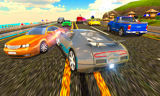 Download Curved Highway Traffic Racer 2019 1.0.16 Apk for android