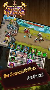 Download Defender Heroes: Castle Defense - Epic TD Game 4.7 Apk for android