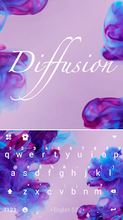 Download Diffusion Purple Keyboard Theme 9.0 Apk for android