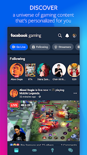 Download Facebook Gaming: Watch, Play, and Connect 125.1.0.45.117 Apk for android