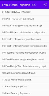 Download Fathul Qorib Terjemah 1.27 Apk for android