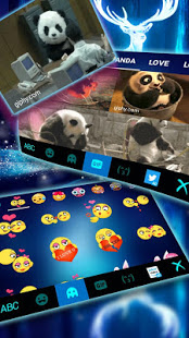 Download Glowing Forest Deer Keyboard Theme 1.0 Apk for android