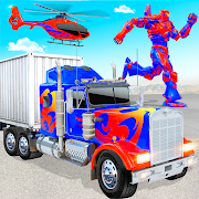 Grand Police Truck Robot War Transform Robot Games 50 Apk for android