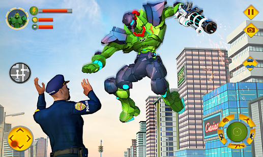 Download Incredible Monster Robot Hero Crime Shooting Game 2.0.5 Apk for android