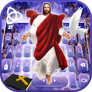 Download Jesus Christ Keyboard Theme 3.0 Apk for android