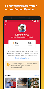 Download Kaodim - Hire Services 3.46.0 Apk for android