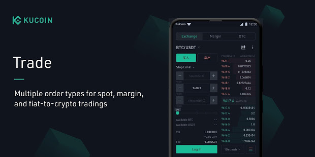 Download KuCoin: Bitcoin Exchange & Crypto Wallet 3.29.1 Apk for android
