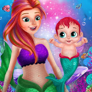 little mermaid baby care ocean world 2.0 apk
