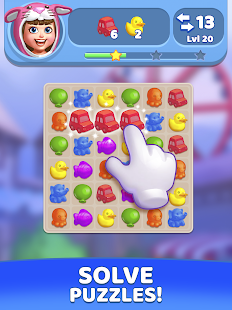Download Match 3 Games in FUNTOWN! Decorating Theme Park 0.2.85 Apk for android