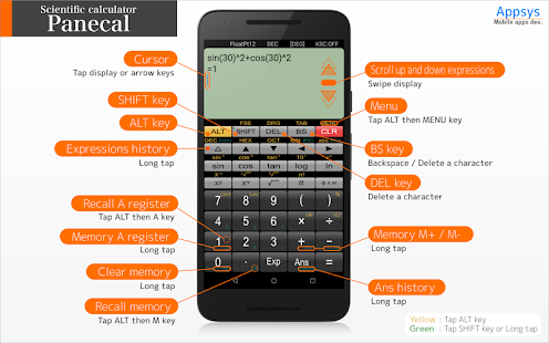 Download Panecal Scientific Calculator 7.1.3 Apk for android