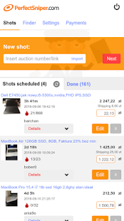Download PerfectSniper - auction sniper for Ebay Apk for android