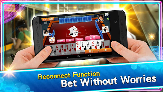 Download 神來也撲克Poker - Big2, Sevens, Landlord, Chinese Poker 11.8.1.1 Apk for android