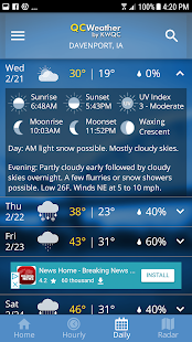 Download QCWeather - KWQC-TV6 5.2.500 Apk for android