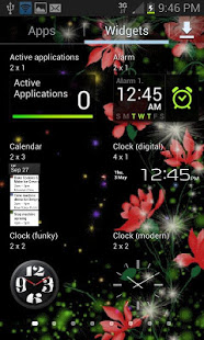 Download Red Flowers Magic LWP 3 Apk for android