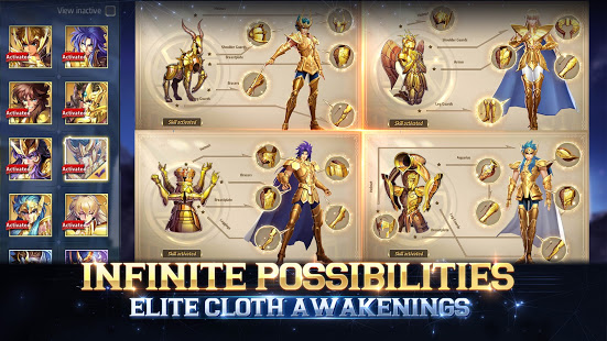Download Saint Seiya Awakening: Knights of the Zodiac 1.6.46.55 Apk for android