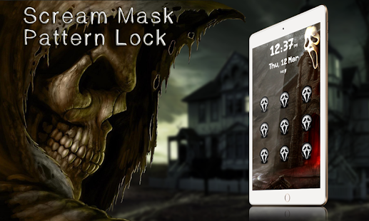 Download Scream Mask Pattern Lock 0.6 Apk for android