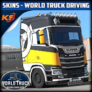 Download SKINS WORLD TRUCK DRIVING - KIVEL SKINZ 3.3 Apk for android
