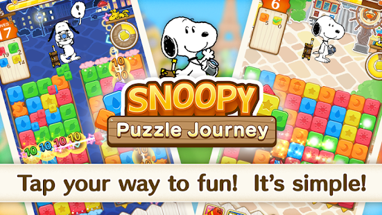 Download SNOOPY Puzzle Journey 1.09.02 Apk for android