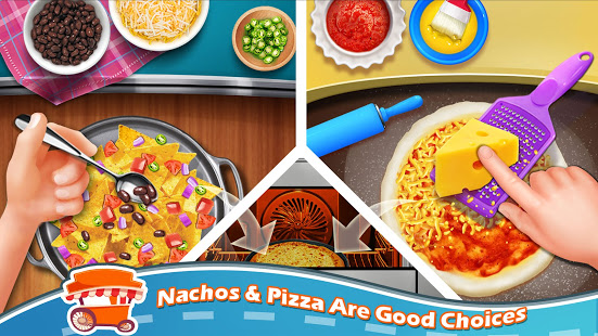 Download Street Food Stand Cooking Game for Girls 1.6 Apk for android