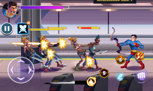 Download Superhero Captain X vs Kungfu Lee 1.3.3.104 Apk for android