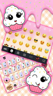 Download Sweet Donut Pink Drip Keyboard Theme 3.0 Apk for android