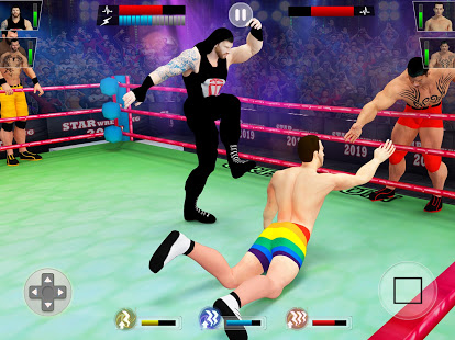 Download Tag Team Wrestling Games: Mega Cage Ring Fighting 7.2 Apk for android