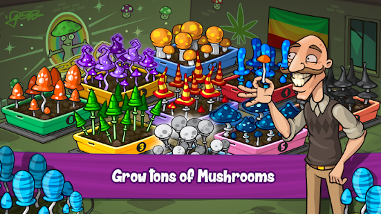 Download Weed Farm Tycoon: Ganja Paradise 1.1.11 Apk for android