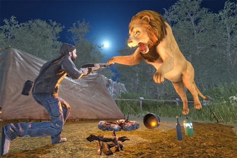 Download Wild Dinosaur Hunting Games: FPS Animal Shooting 5.0 and up Apk for android
