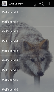 Download Wolf Sounds 2.0 Apk for android
