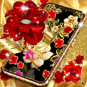 Download Gold rose live wallpaper 18.6 Apk for android
