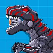 Download Robot Dinosaur Black T-Rex 2.7 Apk for android