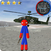 Download Stickman Spider Rope Hero Gangstar City 6.0 Apk for android