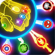 super hero knife battle_free app 1.6 apk