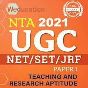 ugc net 2021 ( jrf/set/ nta) paper -1 in eng. 2.7.17 apk