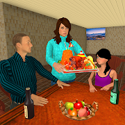 Download Virtual Working Mom US Army Women Happy Family 1.2 Apk for android
