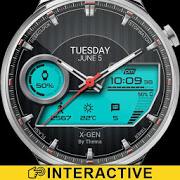 x-gen watch face & clock widget apk