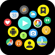 Download Bubble Cloud Widgets + Folders for phones/tablets Apk for android