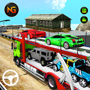 Download Car Transporter Euro Truck Crazy Car Driving Games 1.0.7 Apk for android