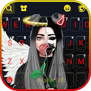 Download Angel Devil Keyboard Background 2.2.AD Apk for android
