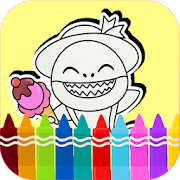 Download Baby Shark coloring book 4.0.2 Apk for android