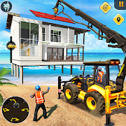 Download Beach House Builder Construction Games 2021 5.0 and up Apk for android