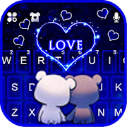 Download Bear Couple Love Keyboard Theme 1.0 Apk for android